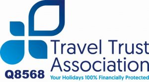 Travel Trust Association no: Q8568
