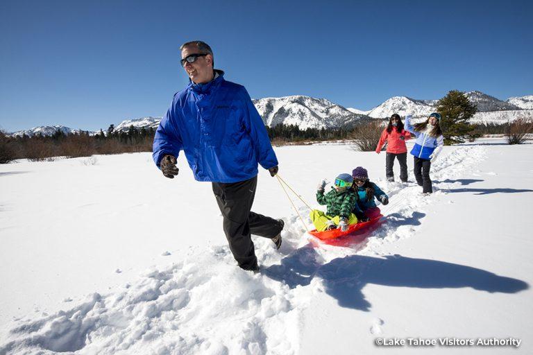 Family Snowplay - Kiva Beach - Tahoe South
