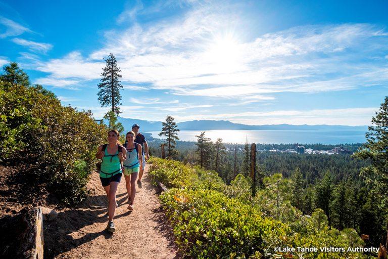 Hiking at Van Sickle Bi-State Park, South Lake Tahoe 1