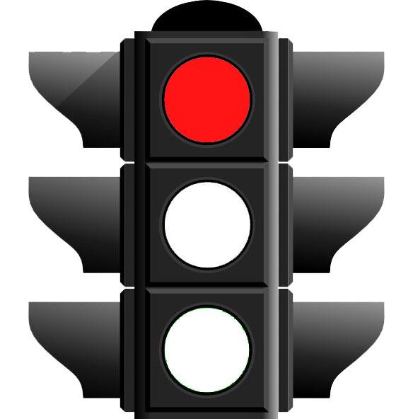 FCDO Red Traffic Light