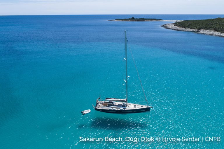 Sakarun beach Dugi Otok Photo Credit Hrvoje Serdar_CNTB