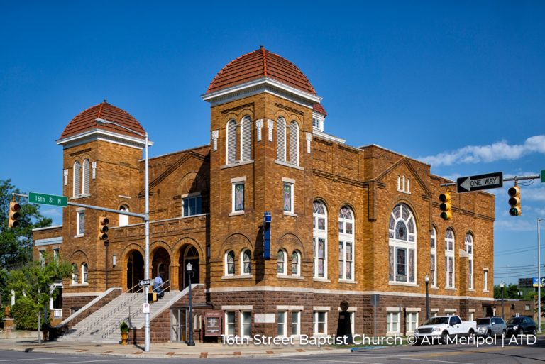 16th Street Baptist Church Alabama Cedit Art Meripol and ATD