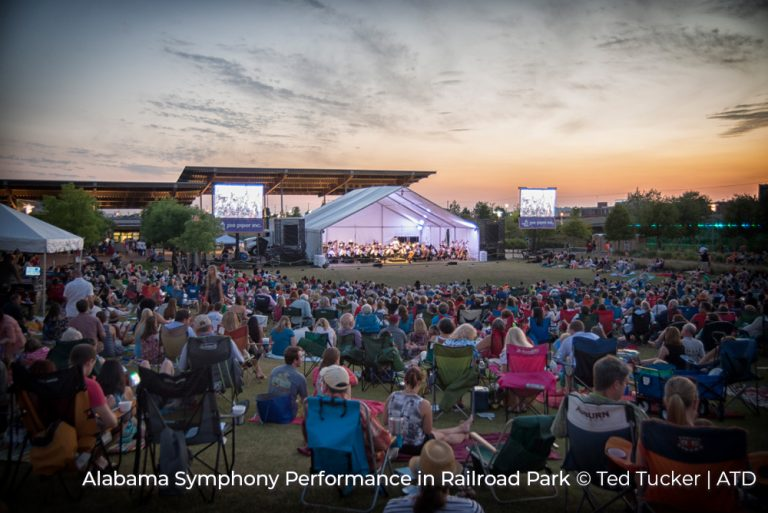 Alabama Symphony Perfomance in Railroad Park Credit Ted Tucker and ATD