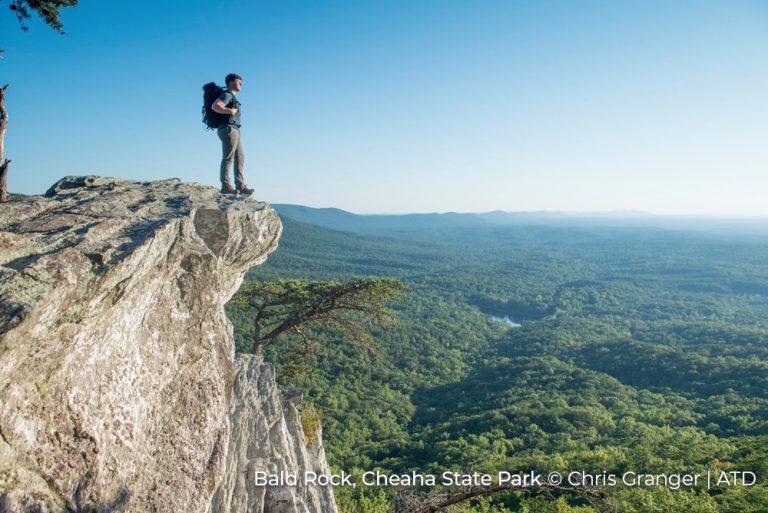 Bald Rock Cheaha State Park Alabama credit Chris Granger and ATD