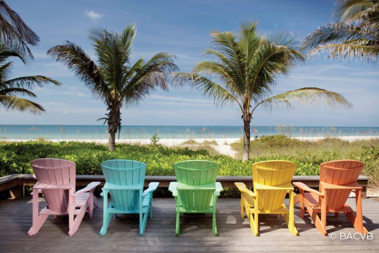 Beach chairs - Bradenton Anna Maria Island - BACVB