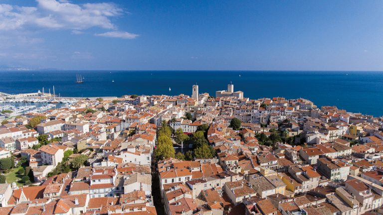 Copyright Diaz Mairie d'Antibes From the Sky