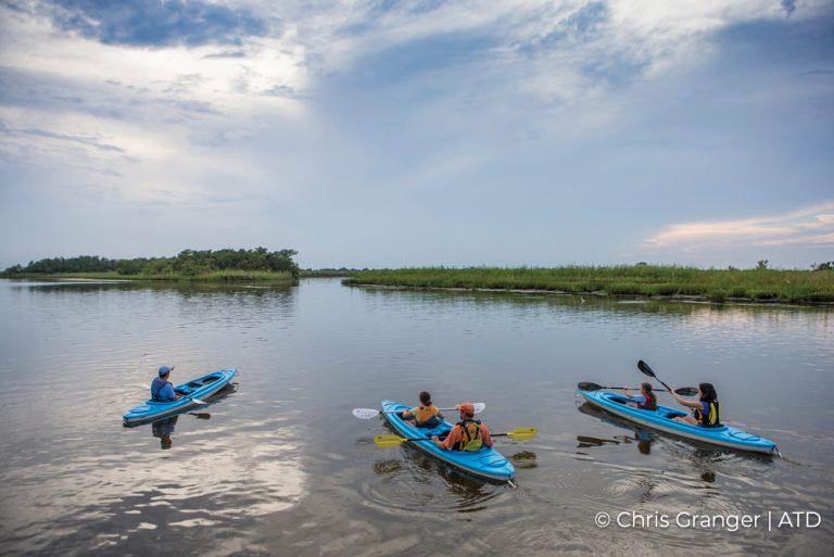 Kayaking Credit Chris Granger and ATD