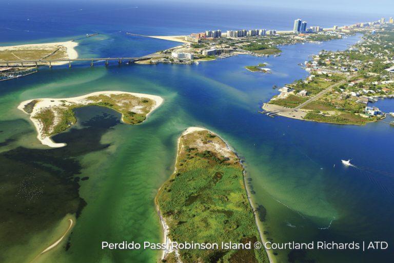 Perdido Pass Robinson Island Alabama Credit Courtland Richards and ATD