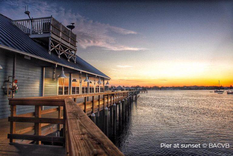 Pier at sunset - Bradenton Anna Maria Island - BACVB