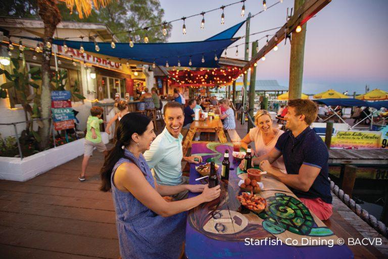 Starfish Co Dining - Bradenton Anna Maria Island - BACVB