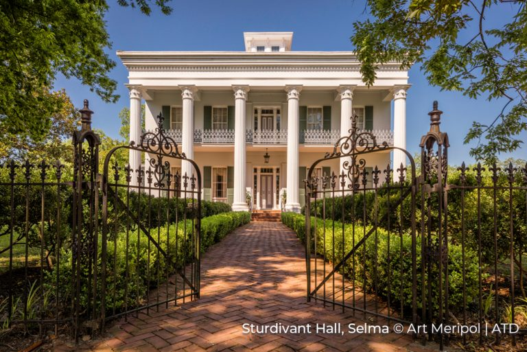 Sturdivant Hall Selma Alabama Credit Art Meripol and ATD