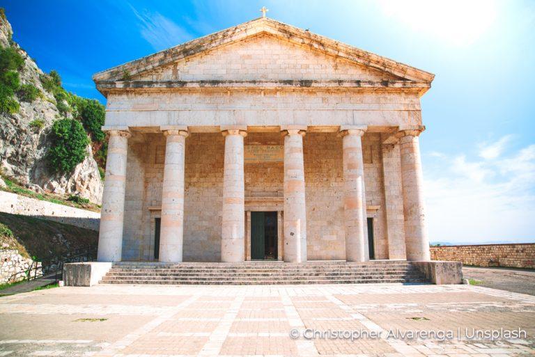 Temple Corfu Christopher Alvarenga Unsplash 17Jun21