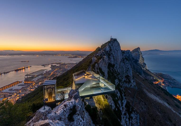 skywalk evening Gibraltar 23Jun21